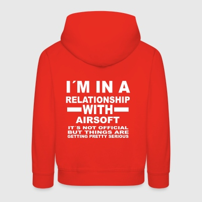 relationship with AIRSOFT - Kinder Premium Hoodie