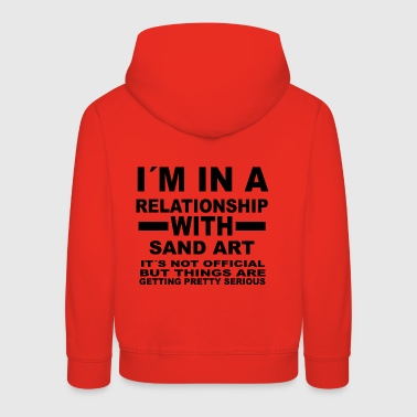 relationship with SAND ART - Kids' Premium Hoodie