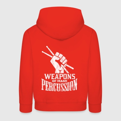 Shirt for drummer as a gift - Kids' Premium Hoodie