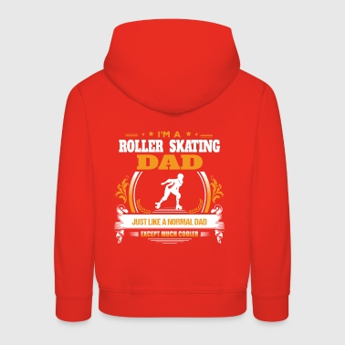 Roller Skating Dad Shirt Gift Idea - Kids' Premium Hoodie