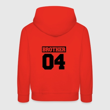 Brother sister family shirt gift - Kids' Premium Hoodie