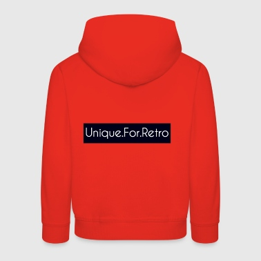 Unique for retro - Kids' Premium Hoodie
