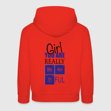 Chemistry girl you are really pretty - Kids' Premium Hoodie