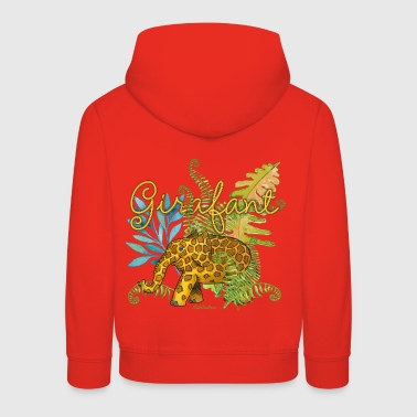 Girafant In The Jungle - Kids' Premium Hoodie