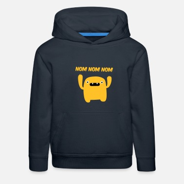 Nom Mr. nom nom nom - Sweat à capuche premium Enfant