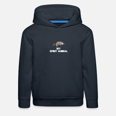Spirit Sloth Is My Spirit Animal - Kids' Premium Hoodie