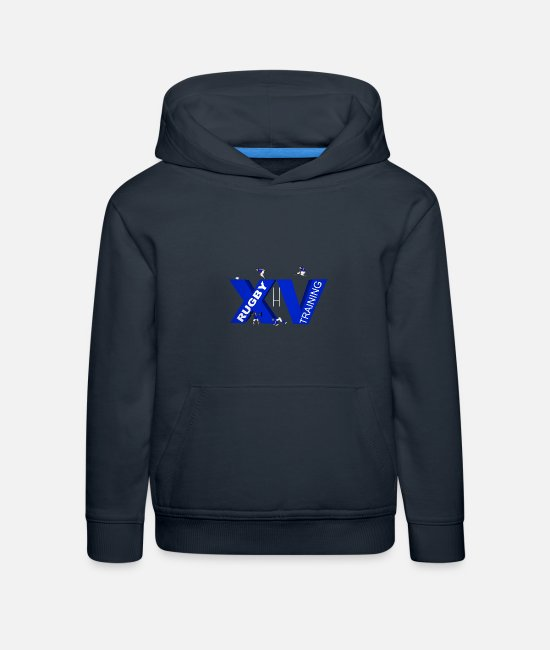 Stadium Hoodies & Sweatshirts - XV TRAINING blue - Kids' Premium Hoodie navy