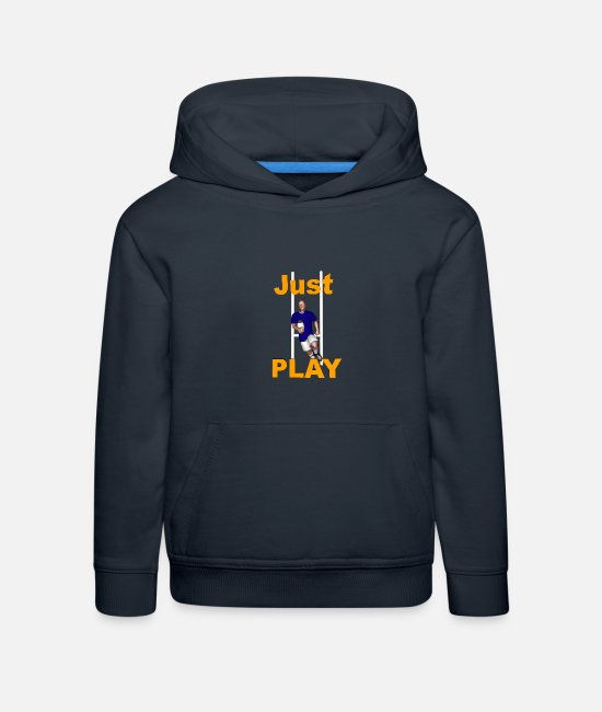 Lyon Rugby Toulousain Hoodies & Sweatshirts - RUGBY Just Play - Kids' Premium Hoodie navy