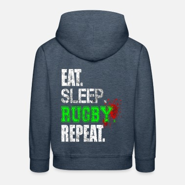 Rugby Passion for Rugby - Kids' Premium Hoodie