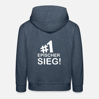 Fortnite Epischer Sieg Nr.1 ! Battle Royal Geschenk Idee - Kinder Premium Hoodie
