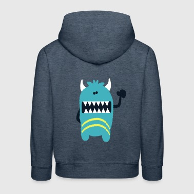 Monster Monster Noah - Monster Cool Collection - Kinder Premium Hoodie