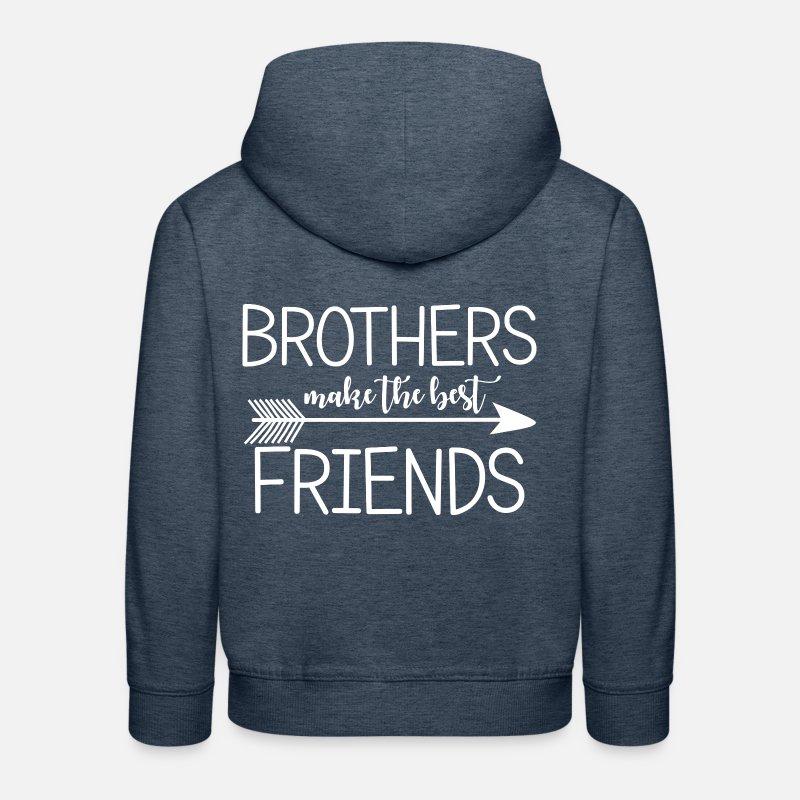 Brüder machen die besten Freunde. Geschenke für Brüder. von ...