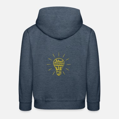 Yahweh Enlighten Us - Kinder Premium Hoodie