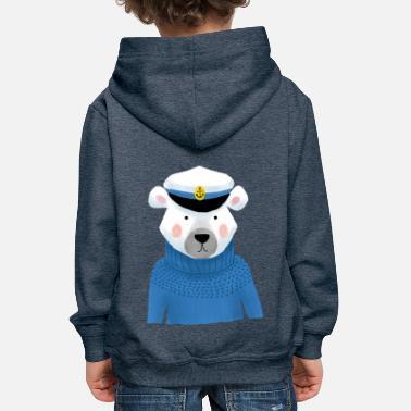 fur seal - Kids' Premium Hoodie