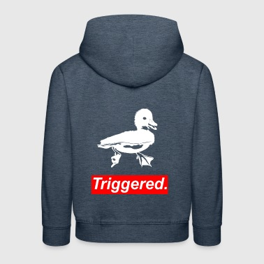 Thanks to Meme triggered funny geek quotes gift - Kids' Premium Hoodie
