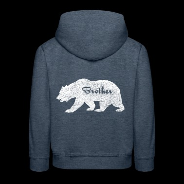 Brother Bear Camping Gifts. Gifts for brother.SALE - Kids' Premium Hoodie