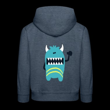 Monstre Noah - Monster Collection cool - Pull à capuche Premium Enfant