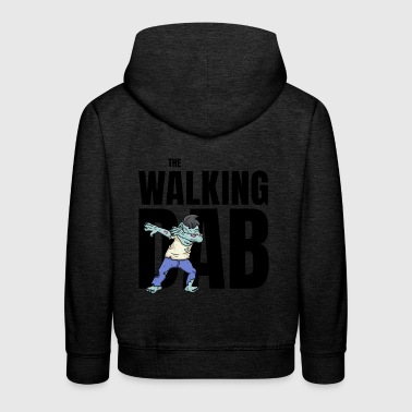The Walking DAB Zombie Boy Dabbing Halloween sw - Kinder Premium Hoodie