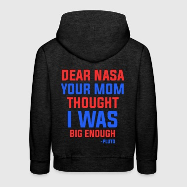 NASA maman Citation - Pull à capuche Premium Enfant
