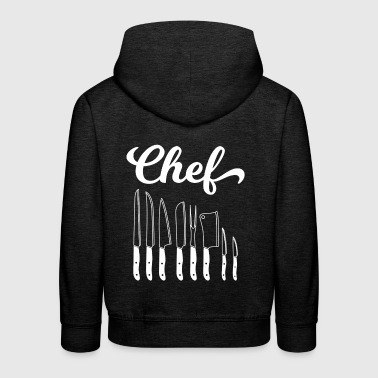 Cook - cook - cook - gift - chef - Kids' Premium Hoodie