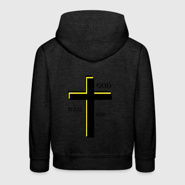God bless you - Kids' Premium Hoodie