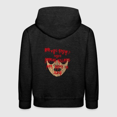 halloween scary suesses saures JUNE - Kinder Premium Hoodie