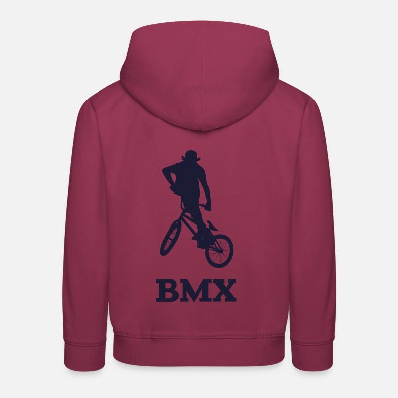 6d10df1a86ea6 BMX Sweat à capuche premium Enfant   Spreadshirt