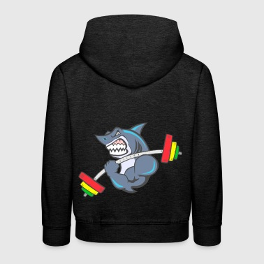 Shark Cross-fit - Sudadera con capucha premium niño