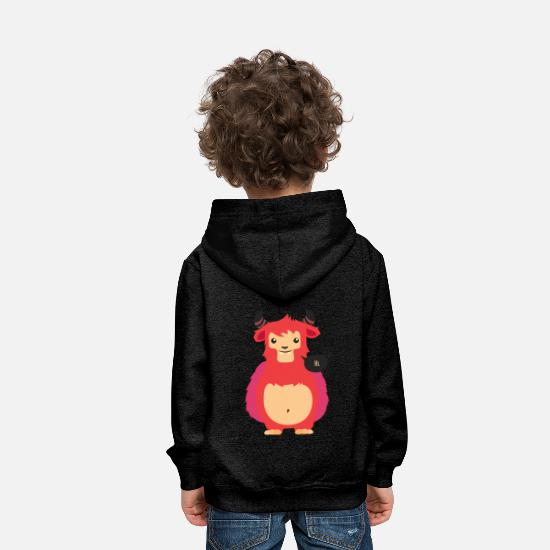 Morning Hoodies & Sweatshirts - shirt, design, t-shirt - Kids' Premium Hoodie charcoal grey