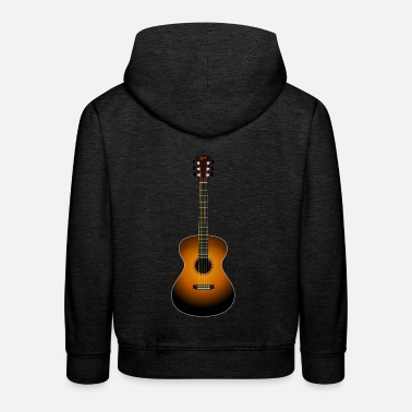 Guitare Acoustique guitare acoustique - Pull à capuche Premium Enfant