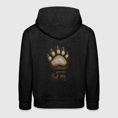 Junior Bear - für Familien-Partnerlook - Kinder Premium Hoodie
