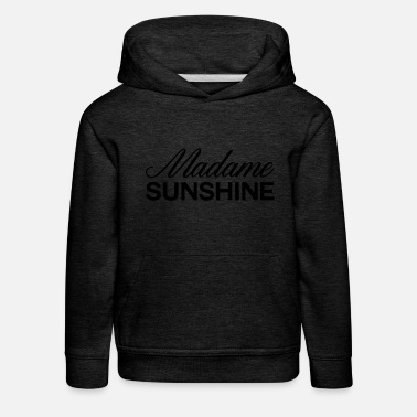 Monsieur Madame madame sunshine - Sweat à capuche premium Enfant
