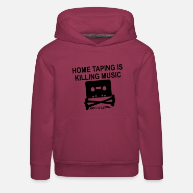 Personalize: Home Taping - Kids' Premium Hoodie