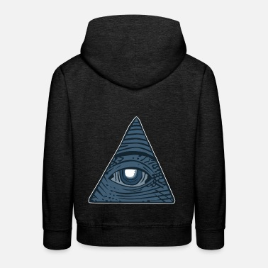 Illuminati - Sweat à capuche premium Enfant