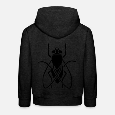 Fly Insect - fly - Kids' Premium Hoodie