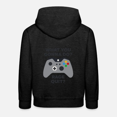 X Box what you gonna do - Kinder Premium Hoodie