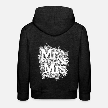 Monsieur Madame Monsieur et Madame - Sweat à capuche premium Enfant