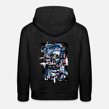 Fantasy Terminator 5000 / Sci fi / Abstract - Kids' Premium Hoodie