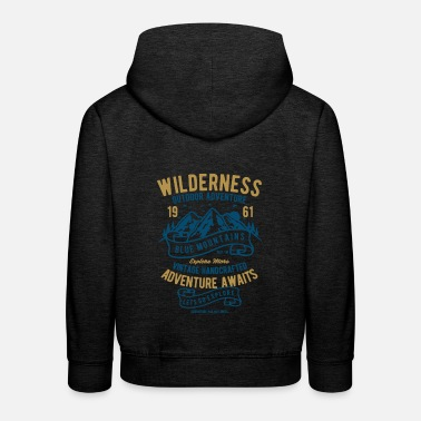 Wilderness Wilderness - Kids' Premium Hoodie