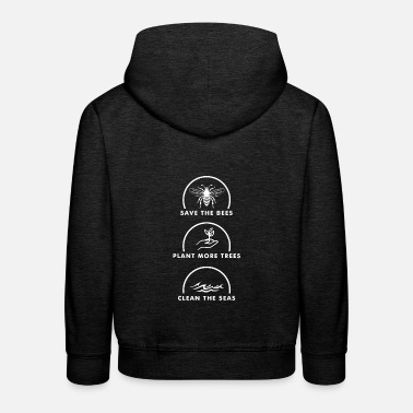 Save The Planet Save the Planet - Kinder Premium Hoodie
