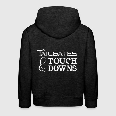 Tailgates and Touchdowns - Football Team Game - Kids' Premium Hoodie