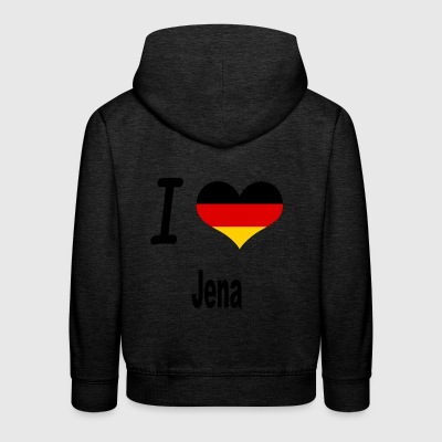I Love Germany Home Jena - Kinder Premium Hoodie