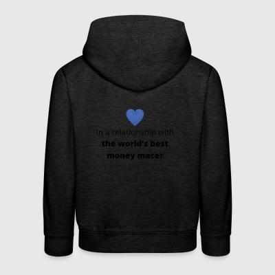 gift single taken relationship with the world s be - Kids' Premium Hoodie