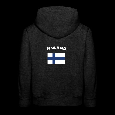 I love home homeland love roots FINLAND - Kids' Premium Hoodie