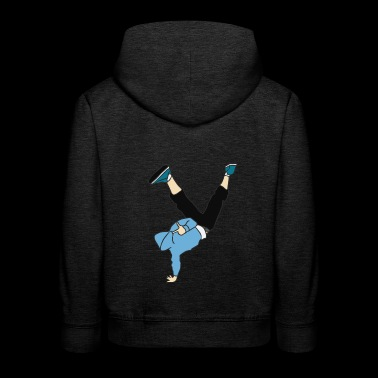 Breakdancer / Hip Hop - Pull à capuche Premium Enfant