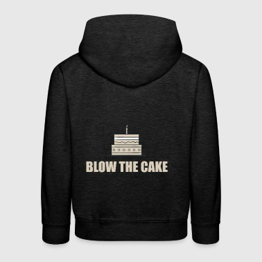 Blow out the candle! - Kids' Premium Hoodie