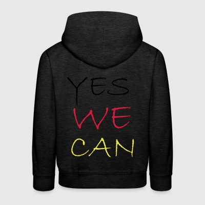 2541614 11883954 yes we can - Kinder Premium Hoodie