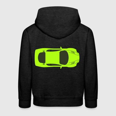 dragster racer automotive car automobil rennwagen4 - Kinder Premium Hoodie