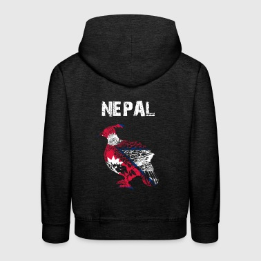 Nation-Design Nepal Monal - Kinder Premium Hoodie