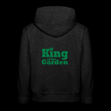 King of the Garden - Kinder Premium Hoodie